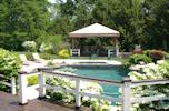 Pool Side Gazebo, Greenwich, CT