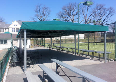 Free Standing Awning at country Club