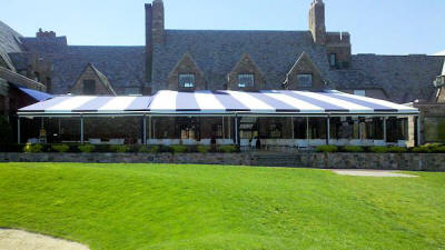 patio awning for country club