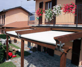 Retractable Weather Proof Awning