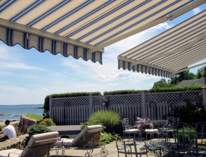 Double Retractable Awnings