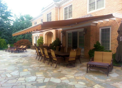 Ultra Strong Retractable Patio Awning