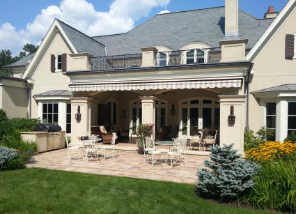 heavy duty retractable awning
