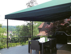 Stationary Deck Awning